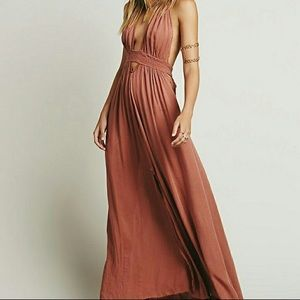 "Free People ""Look into the Sun"" Maxi Dress - XS"